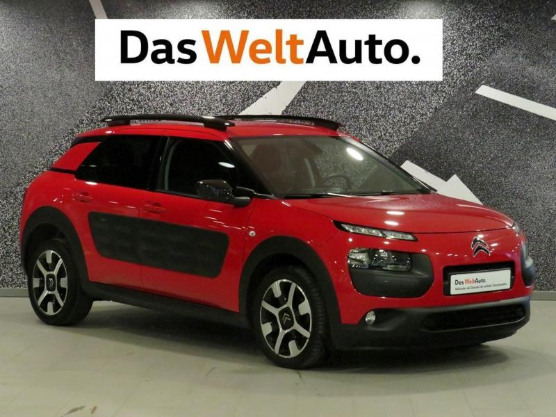 citroen c4 cactus bluehdi 100 feel edition diesel del 2015 con 98164 km en vigo. Black Bedroom Furniture Sets. Home Design Ideas