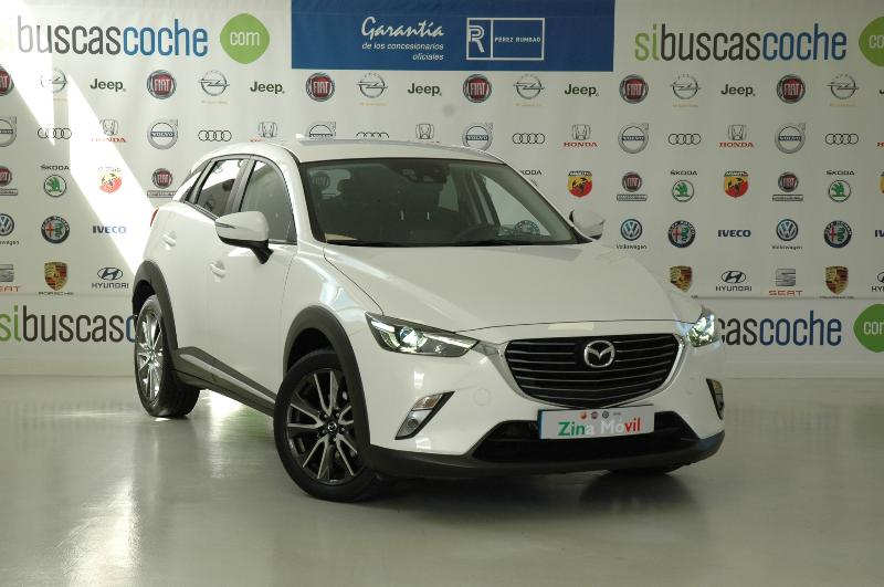 Coche de ocasión mazda cx 3 1.5 skyactiv de luxury 4wd at