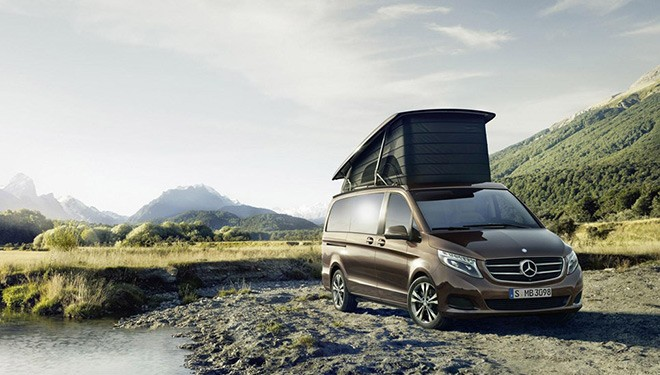 Mercedes Clase V Marco Polo, confort y bienestar
