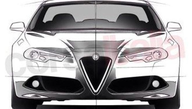 Salen a la luz los bocetos del Alfa Romeo Giulia antes de su presentación oficial