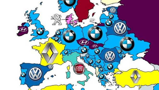 Volkswagen, la más buscada en Google en España