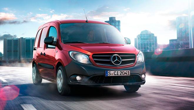 Mercedes-Benz Citan: bajo consumo, reducido tamaño, pero buena capacidad de carga