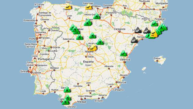 Viajes largos: información de carreteras en tiempo real
