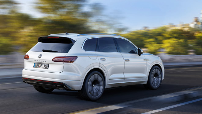 Touareg, el Volkswagen premium