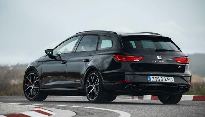 Seat León ST Cupra Black Carbon, el modelo más elegante y atractivo