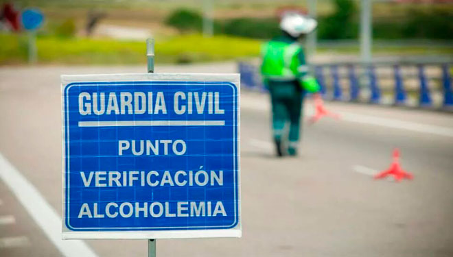 control alcoholemia, alcoholímetro, guardia civil