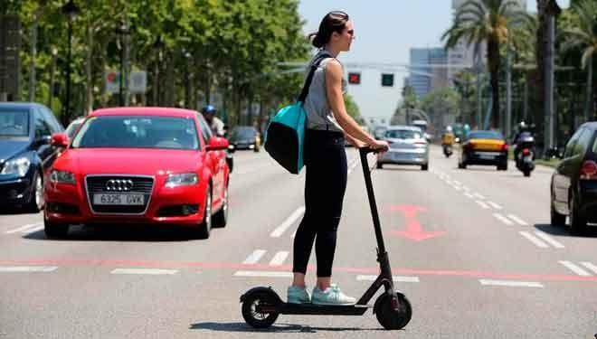 La nueva moda de los patinetes eléctricos en las ciudades