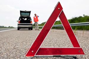 triangulos reflectantes, help flash, seguridad vial