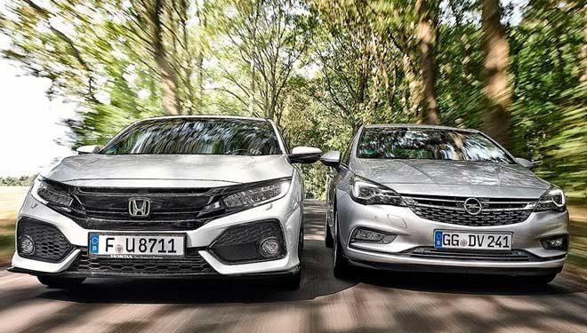 Honda Civic y Opel Astra, dos buenas opciones en la oferta de compactos