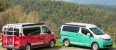 Nissan amplía su gama de furgonetas Camper