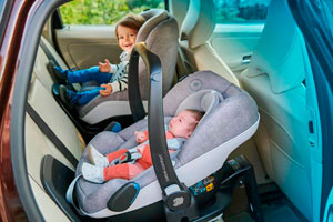 silla infantil, seguridad vial