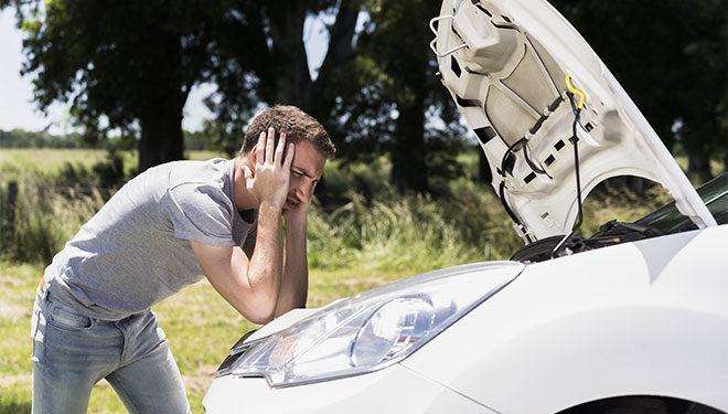 Las averías más habituales en un coche gasolina