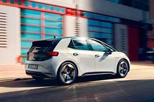 Volkswagen ID.3 exterior, vehículo de ocasión, coches eléctricos