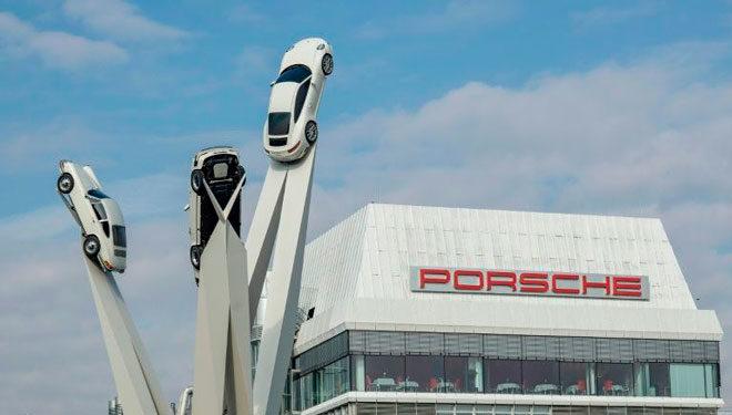 Descubre el origen del logotipo de Porsche