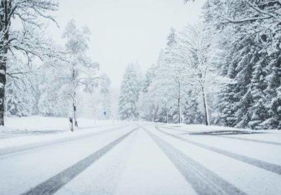 Recomendaciones para conducir con nieve en la calzada