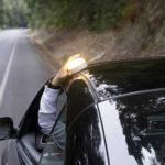 concesionario galicia, luz obligatoria dgt, help flash, chaleco reflectante, triangulo emergencias