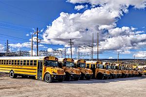 autobuses escolares estadounidenses, coches de ocasión